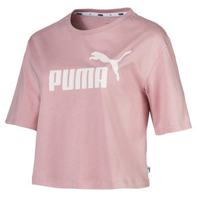 Essentials+ cropped T-shirt voor dames
