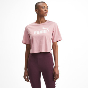 Thumbnail 1 of Essentials+ Cropped Women's Tee, Bridal Rose, medium