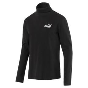 Thumbnail 1 of Men's Turtleneck Sweater, Cotton Black, medium