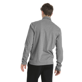 Thumbnail 3 of Men's Turtleneck Sweater, Medium Gray Heather, medium