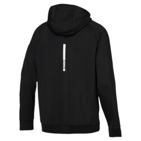 Thumbnail 2 of Tec Sports Cat Hoodie, Puma Black, medium