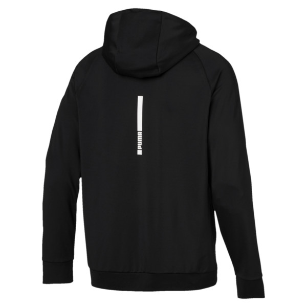 Tec Sports Cat Hoodie, Puma Black, large