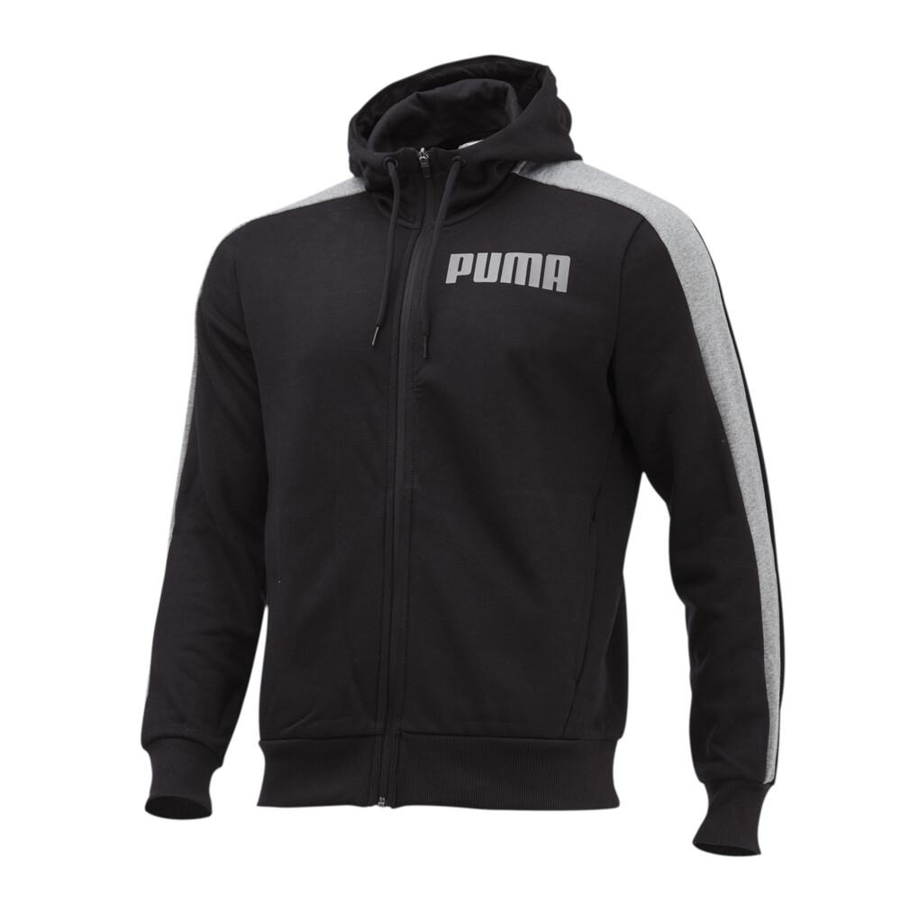 Image PUMA Contrast Full Zip Men's Hoodie #1
