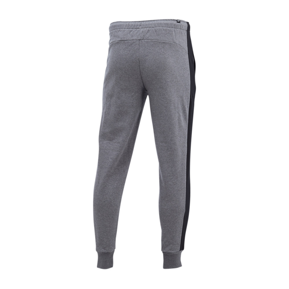 PUMA - female - Штаны Contrast Pants FL M cl – Medium Gray Heather –, Серый