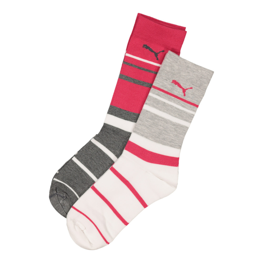 Image Puma Ladies 2 Pack Graphic Anklet Sock #1
