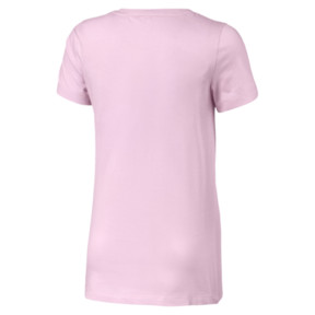 Thumbnail 2 of Classics Girls' Logo Tee JR, Pale Pink, medium