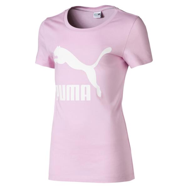 Classics Girls' Logo Tee JR, Pale Pink, large