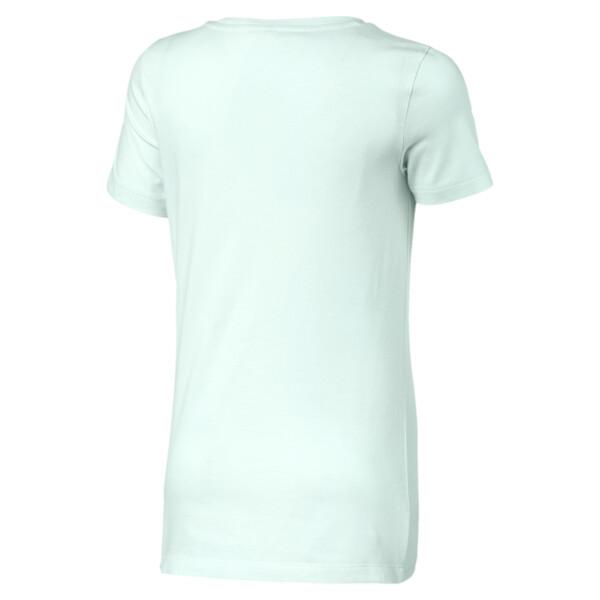 T-Shirt Classics Logo pour fille, Fair Aqua, large