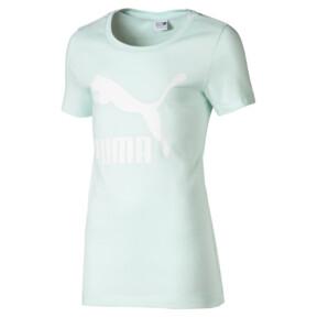 Thumbnail 1 of T-Shirt Classics Logo pour fille, Fair Aqua, medium