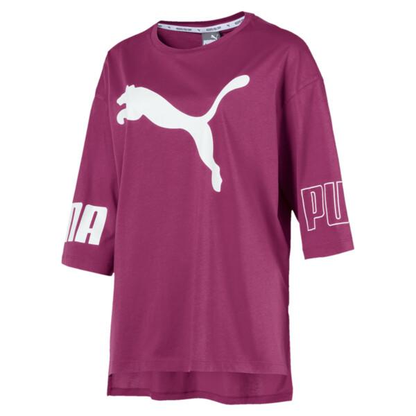 MODERN SPORT Logo T-Shirt, Magenta Haze, large