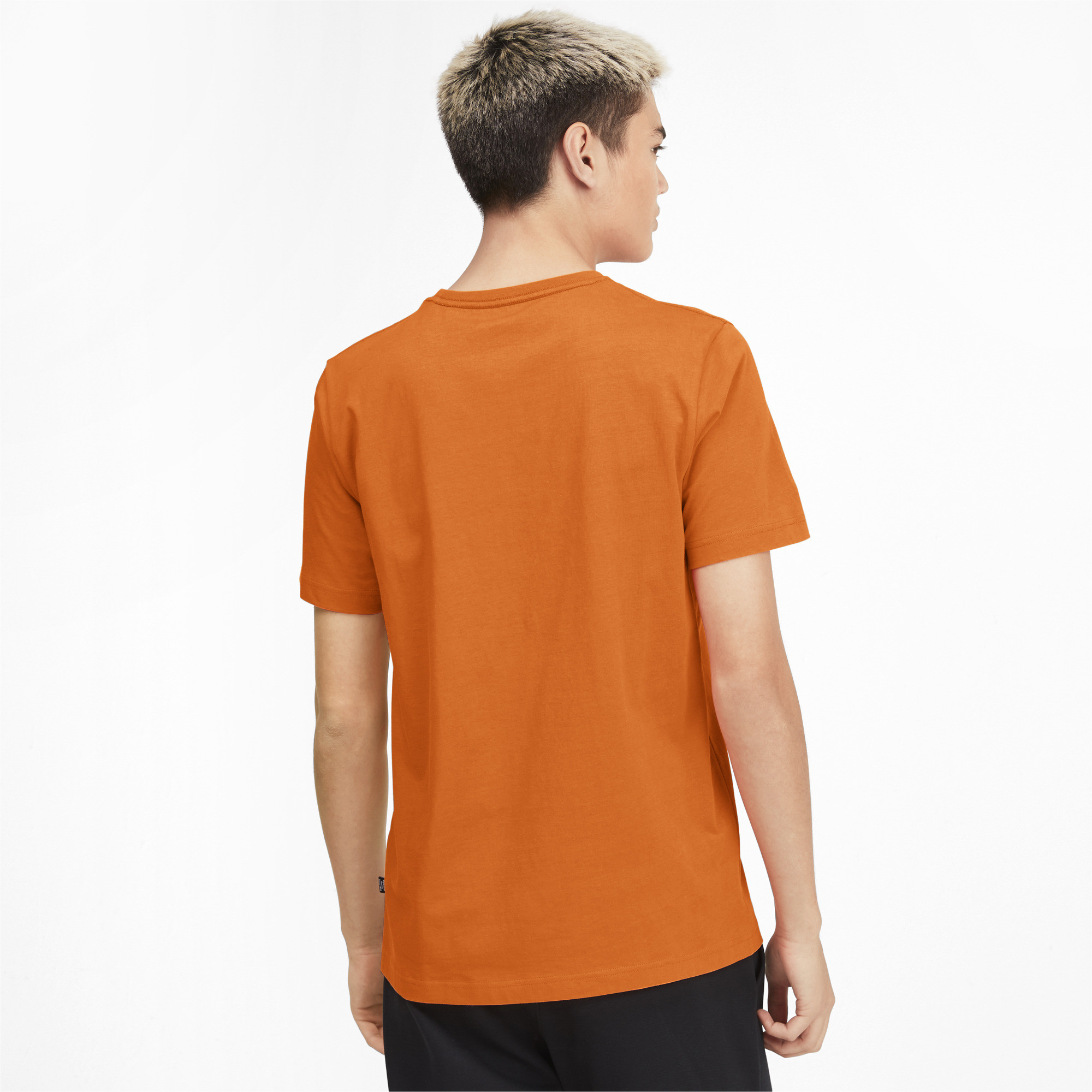 PUMA-Essentials-Men-039-s-Logo-Tee-Men-Tee-Basics thumbnail 5