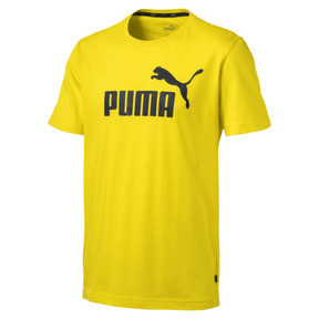 Thumbnail 4 of Essentials Men's Tee, Blazing Yellow, medium