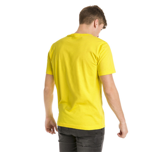 Essentials Men's Tee, Blazing Yellow, large