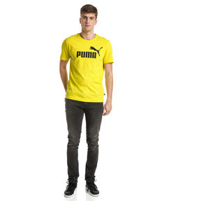 Thumbnail 3 of Essentials Men's Tee, Blazing Yellow, medium