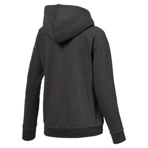 Thumbnail 3 of ATHLETIC Full-Zip Hoodie, DarkGrayHeather-BronzeMedal, medium