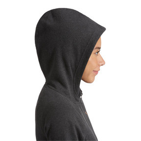 Thumbnail 4 of ATHLETIC Full-Zip Hoodie, DarkGrayHeather-BronzeMedal, medium