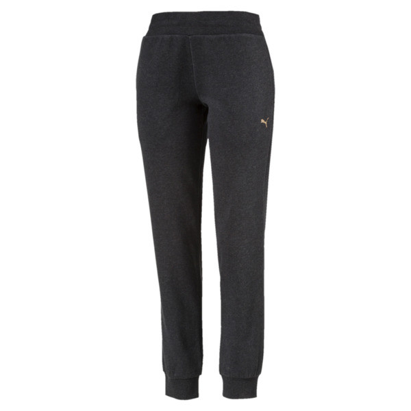 ATHLETIC Full-Length Pants, DarkGrayHeather-BronzeMedal, large