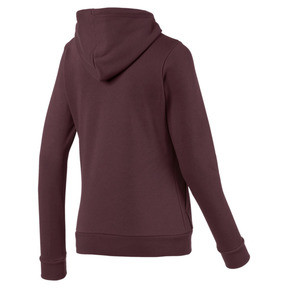 Thumbnail 5 of Essentials Women's Fleece Hoodie, Vineyard Wine, medium