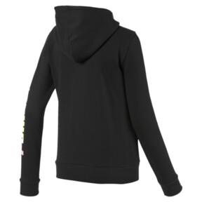 Thumbnail 5 of Essentials Women's Hooded Fleece Jacket, Puma Black, medium