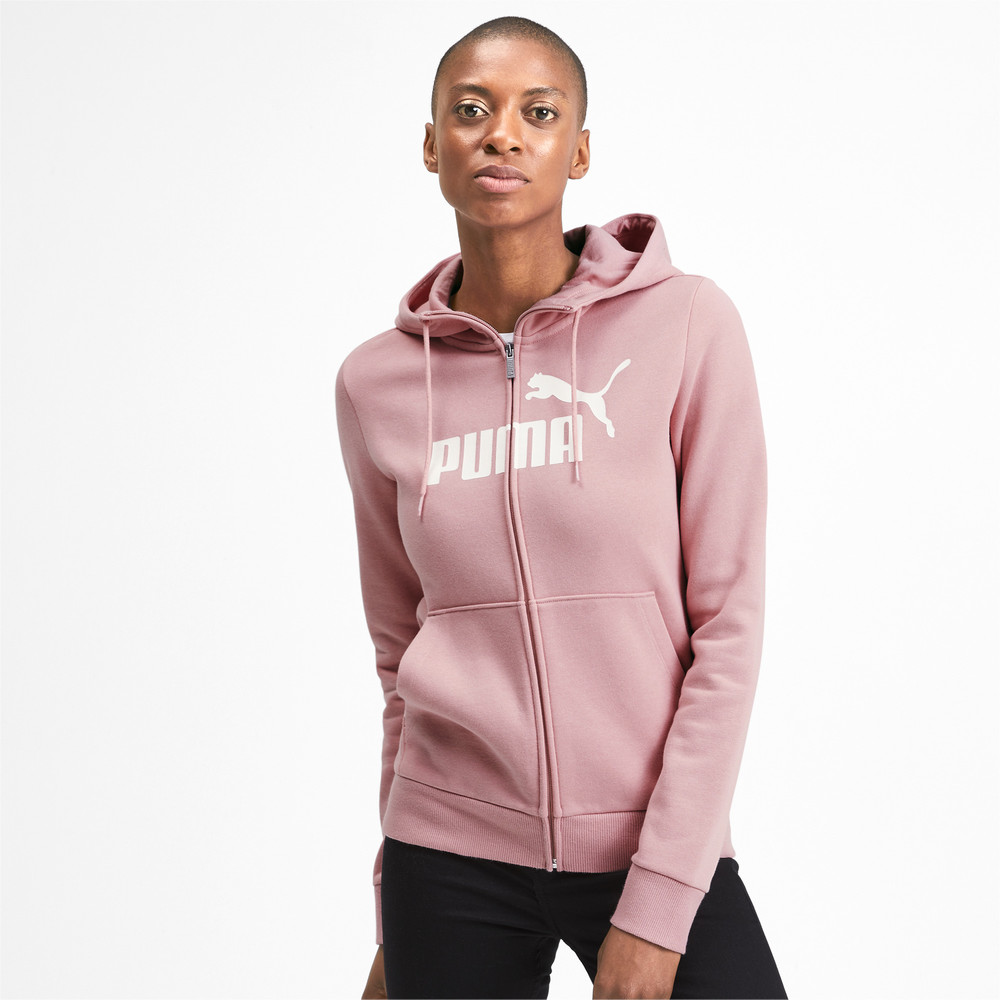 Изображение Puma Толстовка Essentials Fleece Hooded Jkt #1