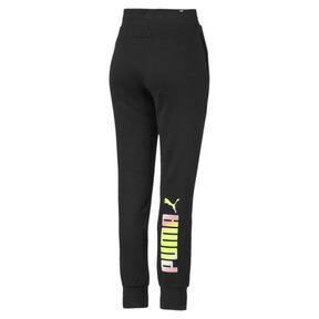Thumbnail 5 of Essentials Women's Fleece Sweatpants, Puma Black, medium