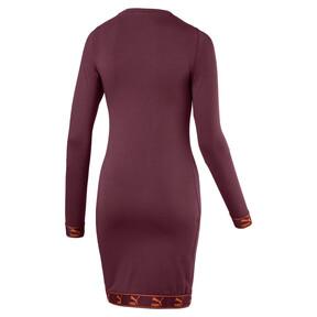Thumbnail 4 of Evolution Damen Jersey Kleid, Burgundy, medium