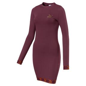 Thumbnail 1 of Evolution Damen Jersey Kleid, Burgundy, medium