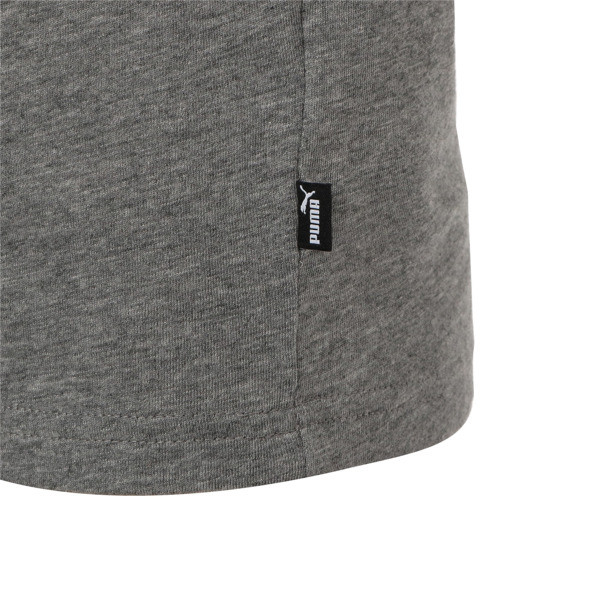 キッズ ESS LS Tシャツ (長袖), Medium Gray Heather, large-JPN