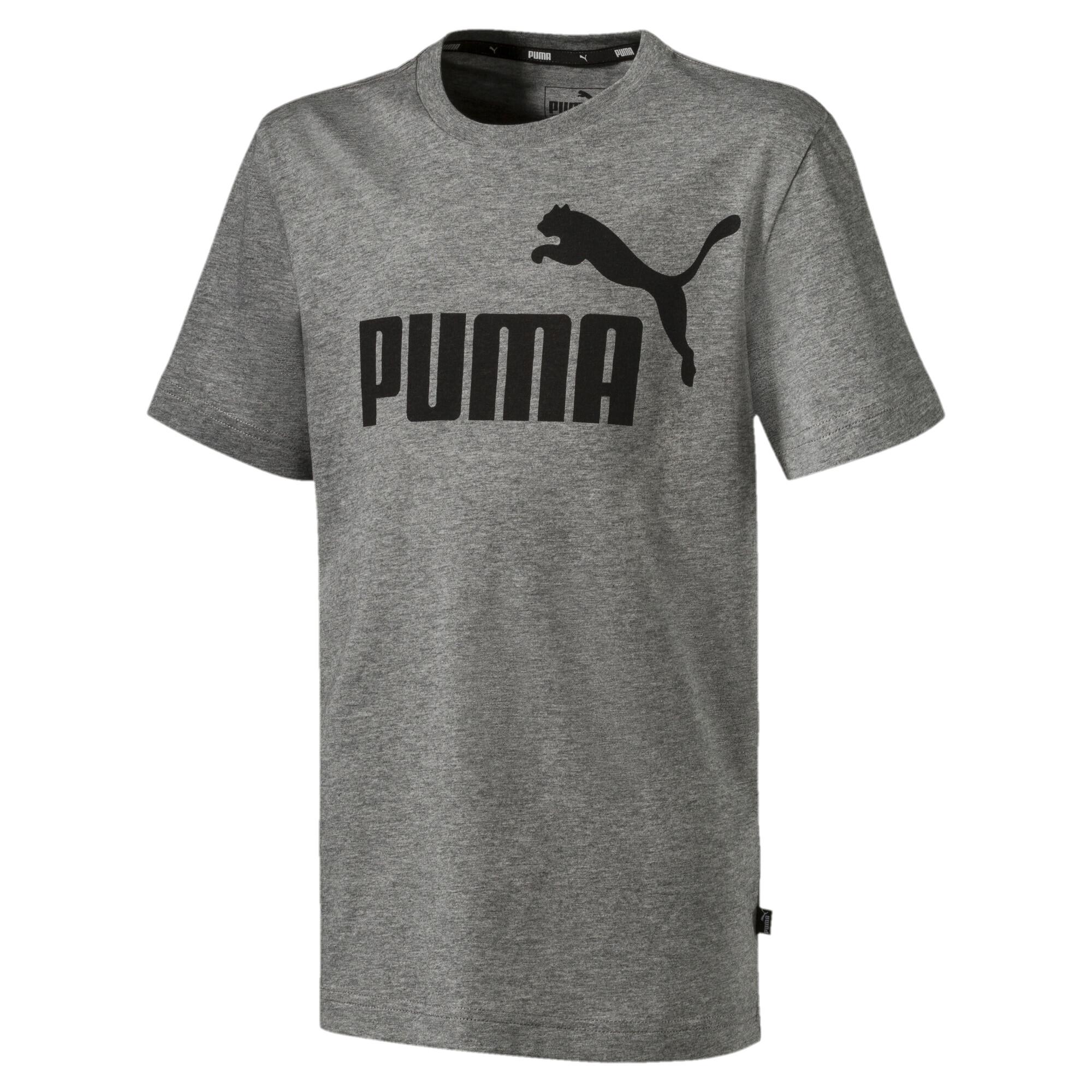 【プーマ公式通販】 プーマ キッズ ESS Tシャツ 半袖 120-160cm メンズ Medium Gray Heather |PUMA.com