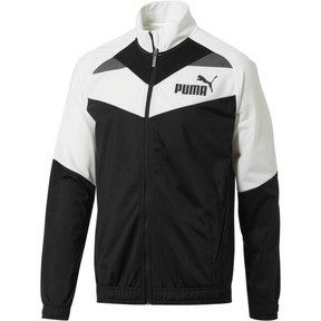 Thumbnail 1 of Iconic Tricot Jacket, Puma White-Puma Black, medium