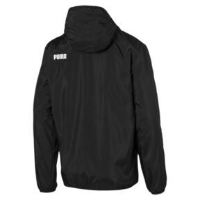 Thumbnail 2 of Hooded Zip-Up Men's Windbreaker, Puma Black, medium