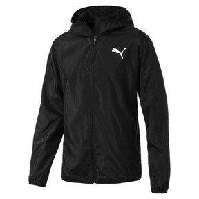 Hooded Zip-Up Men's Windbreaker