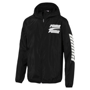 Thumbnail 1 of Rebel Men's Windbreaker, Puma Black, medium