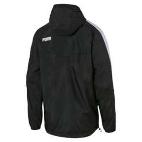 Thumbnail 2 of Men's Windbreaker + CB, Puma Black, medium