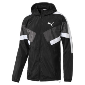 Thumbnail 1 of Men's Windbreaker + CB, Puma Black, medium