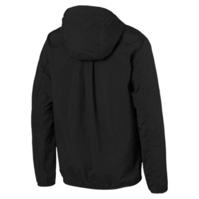 Thumbnail 3 of PUMA Men's Half Zip Jacket, Puma Black, medium