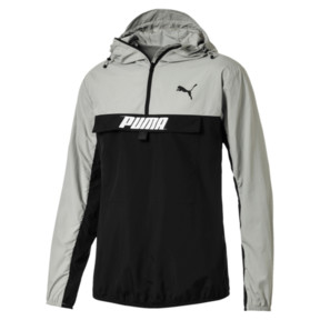 Thumbnail 1 of PUMA Men's Half Zip Jacket, Limestone, medium