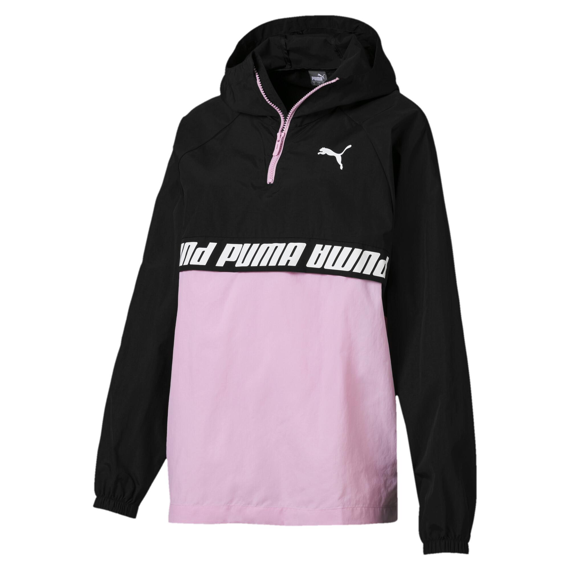 Image Puma Modern Sports Half Zip Hooded Women's Windbreaker #1