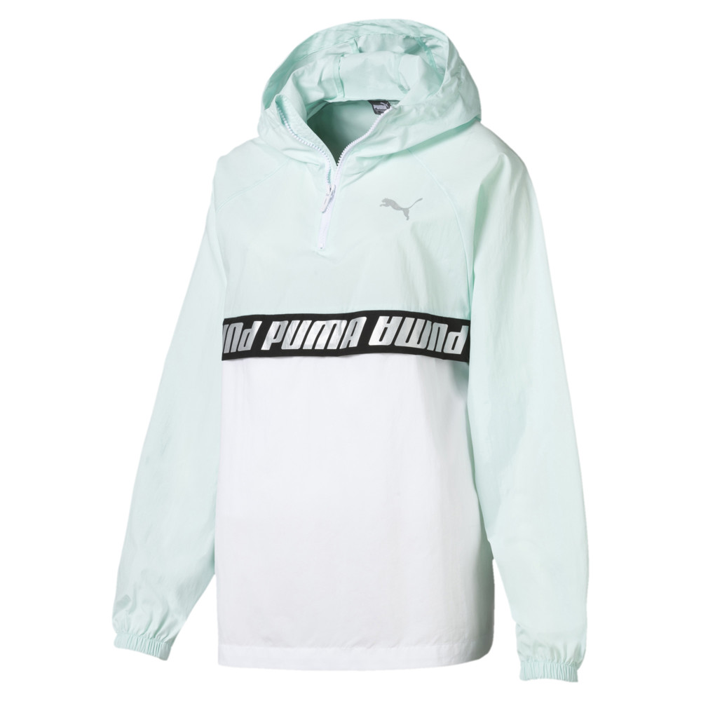 Image Puma Modern Sports Half Zip Hooded Women's Windbreaker #1