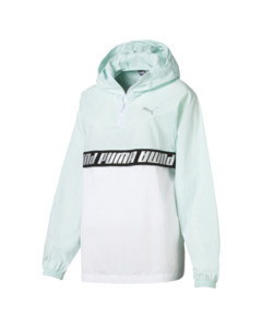 Image Puma Modern Sports Half Zip Hooded Women's Windbreaker