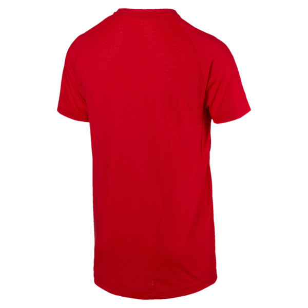 Evostripe Move Men's Tee, High Risk Red, large