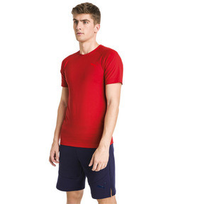 Thumbnail 1 van Evostripe Move T-shirt voor heren, High Risk Red, medium
