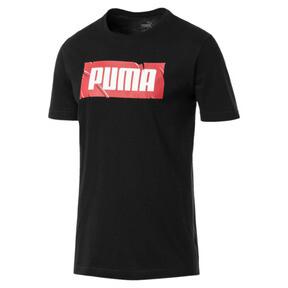 Thumbnail 1 of PUMA Wording Tee, Cotton Black, medium