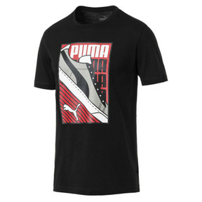 Thumbnail 1 of Men's Sneaker Tee, Cotton Black, medium