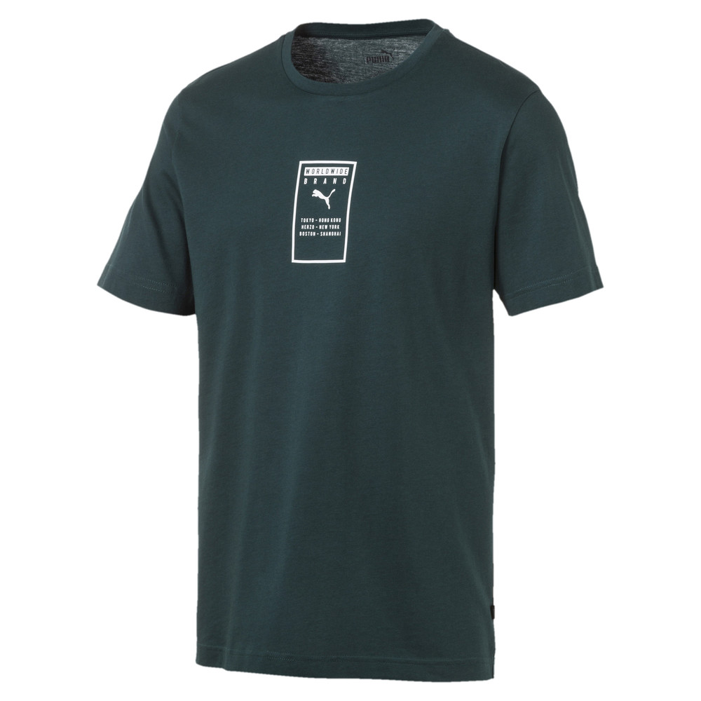 Image Puma Brand Placed Men's Tee #1