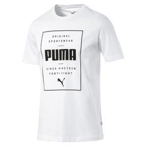 Thumbnail 2 of Box PUMA Tee, Puma White, medium