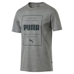 Thumbnail 2 of Box PUMA Tee, Medium Gray Heather, medium