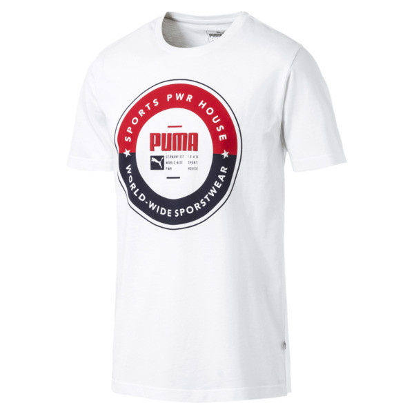 PUMA SP Execution Tee, Puma White, large