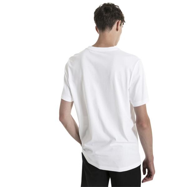 Fusion T-shirt met korte mouwen voor mannen, Puma White, large