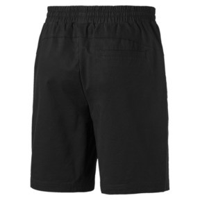 "Thumbnail 5 of Fusion Twill Shorts 8"", Puma Black, medium"